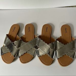 Cupid silver sandals